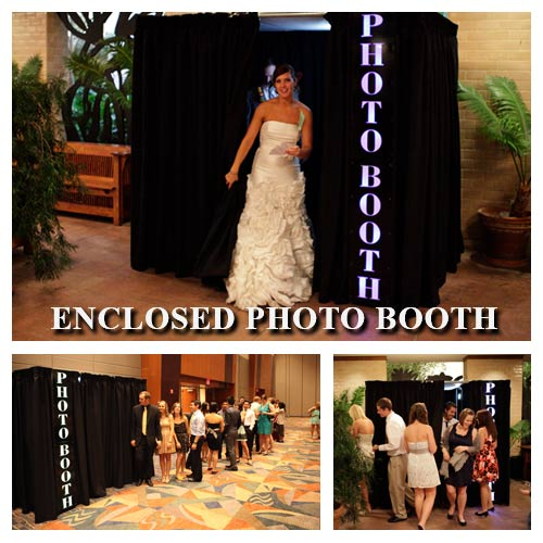 Enclosed Photo Booth for Up to 12 people