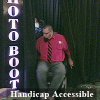 Our Photo Booths Are Handicap Accessible