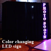 Color Changing LED Sign