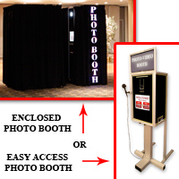 De Luxe Photo Booth - Luxury Omaha Photo Booth