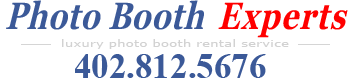 Photo Booth Experts - Luxury Photo Booth Rental Service in Omaha, Nebraska, Council Bluffs, Iowa, and surrounding areas